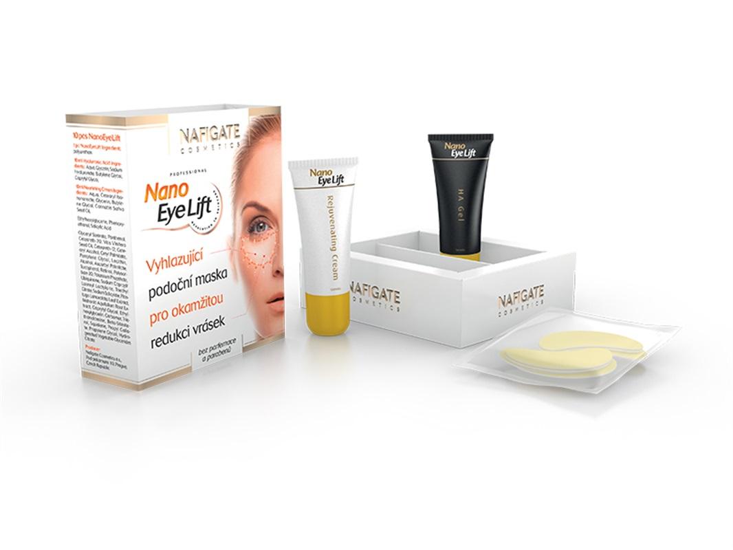 Podočná maska Nano Eye Lift (3 páry +1 zadarmo)