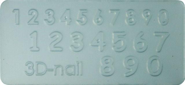 3D Šablóna - Number