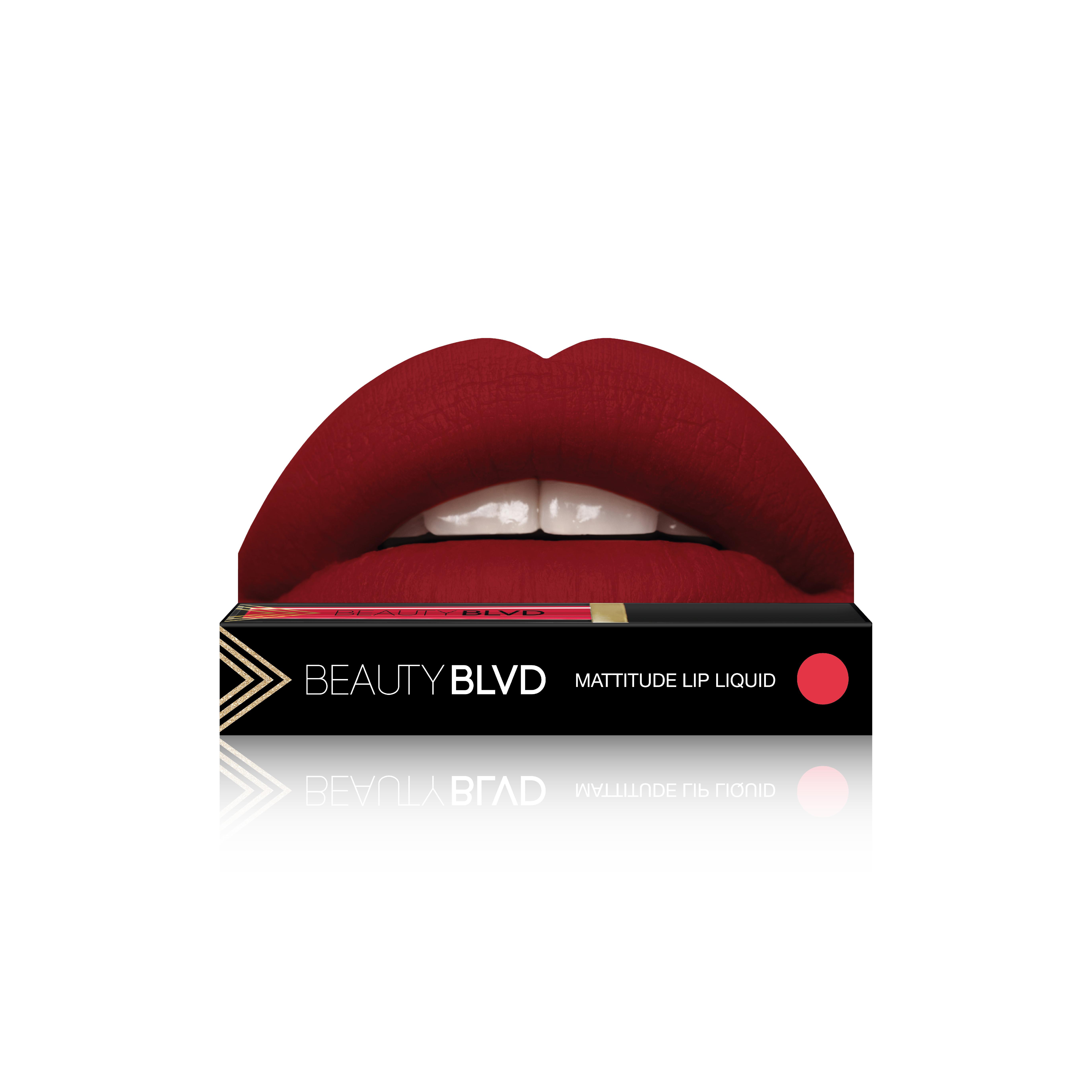 Beauty Boulevard Rúž Mattitude Lip Liquid - Parasol