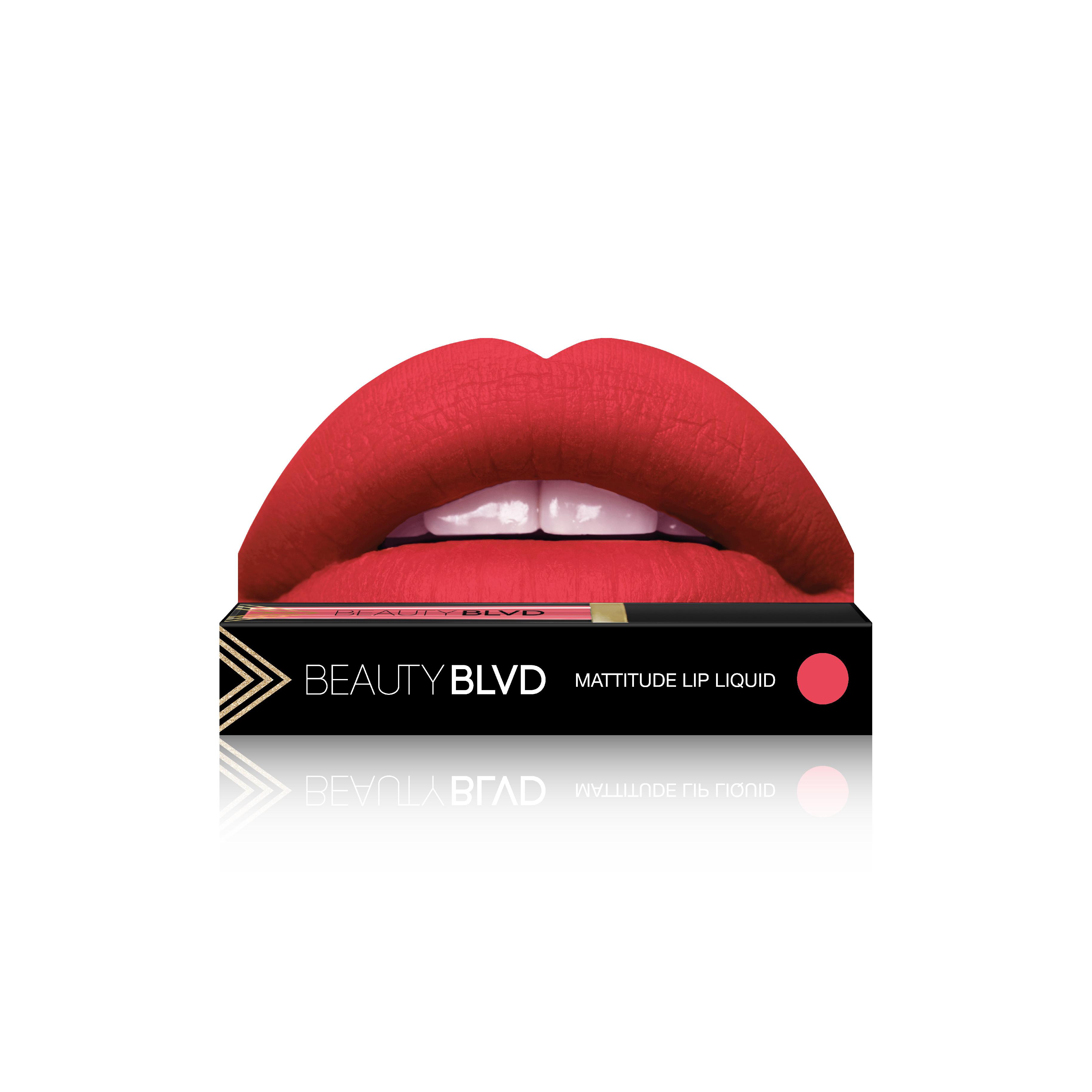 Beauty Boulevard Rúž Mattitude Lip Liquid - Tansy