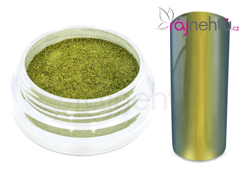 Chrómový pigment Flip Flop - gold/silver 0,5g