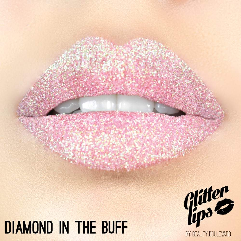 Beauty Boulevard Glitter Lips, vodoodolné trblietky na pery - Diamond in the Buff 3,5ml