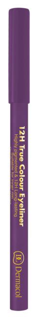 Dermacol - 12H True Colour Eyeliner - Drevená ceruzka na oči - 4 g