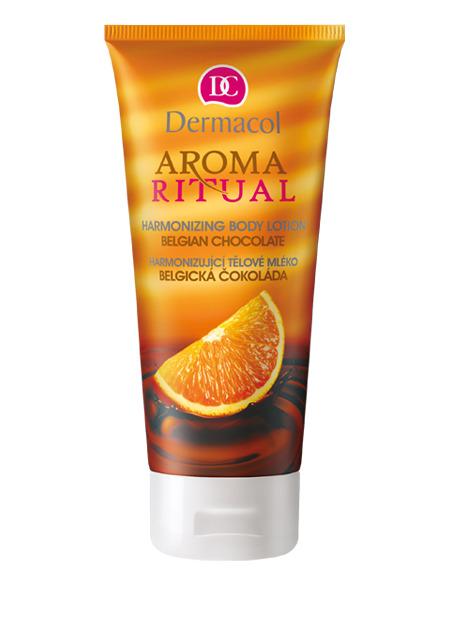 Dermacol - AROMA RITUAL BODY LOTION – BELGIAN CHOCOLATE - Harmonizujúce telové mlieko – belgická čokoláda - 200 ml