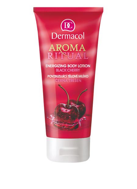 Dermacol - AROMA RITUAL BODY LOTION – BLACK CHERRY - Povzbudzujúci telové mlieko – čierna čerešňa - 200 ml