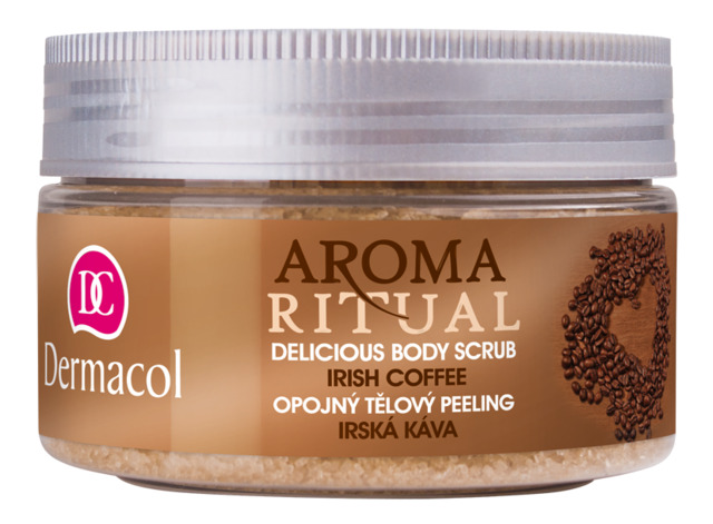 Dermacol - AROMA RITUAL BODY SCRUB IRISH COFFEE - Opojný telový peeling írska káva - 200 g