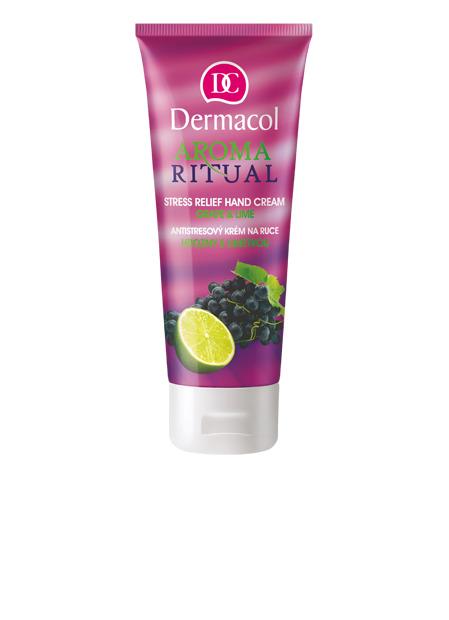 Dermacol - AROMA RITUAL HAND CREAM - GRAPE & LIME - Antistresový krém na ruky - hrozno s limetkou - 100 ml