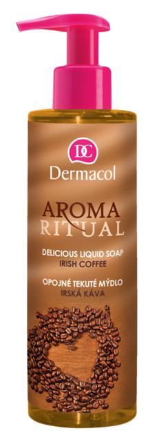 Dermacol - AROMA RITUAL LUQUID SOAP - IRISH COFFEE - Opojné mydlo na ruky - írska káva - 250 ml