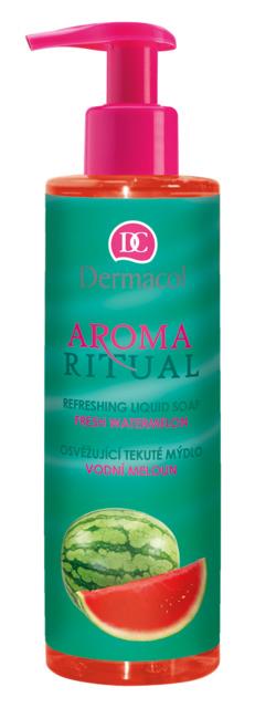 Dermacol - AROMA RITUAL REFRESHING LIQUID SOAP - FRESH WATERMELON - Osviežujúce mydlo na ruky - vodový melón - 250 ml