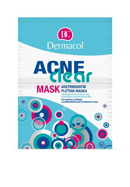 Dermacol - Acneclear Mask - Adstringentná maska pre mastnú