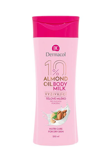 Dermacol - Almond Oil Nourishing body milk - Vyživujúce telové mlieko - 250 ml