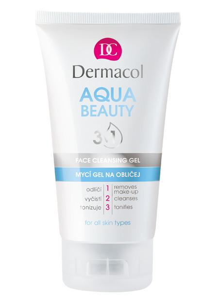 Dermacol - Aqua Beauty 3in1 Face Cleansing Gel - Umývací gél na tvár s morskými riasami  - 150 ml