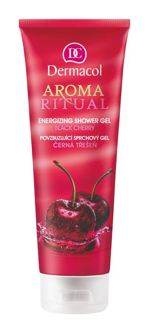 Dermacol - Aroma Ritual Shower Gel - Black Cherry - Povzbudzujúci sprchový gél – čierna čerešňa - 250 ml