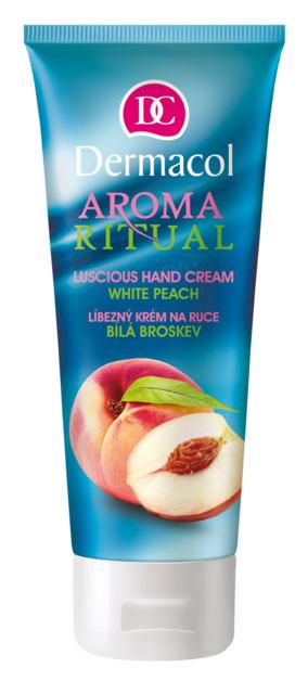 Dermacol Aroma Ritual - bílá broskev - krém na ruky
