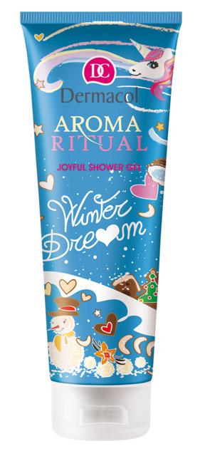 Dermacol - Aroma Ritual - shower gel Winter dream - Omamná vôňa vianočného pečiva - 250 ml