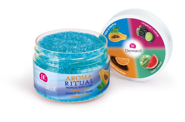 Dermacol Aroma Ritual -  telový peeling Papája a Mata