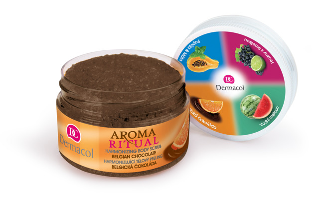Dermacol Aroma Ritual - telový peeling belgická čokoláda