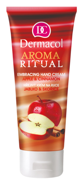 Dermacol - Aroma ritual Embracing Hand Cream Apple & Cinnamon - Hrejivý krém na ruky - jablko so škoricou - 100 ml