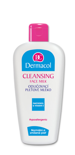 Dermacol - Cleansing Face Milk - Osviežujúce pleťové tonikum - 200 ml