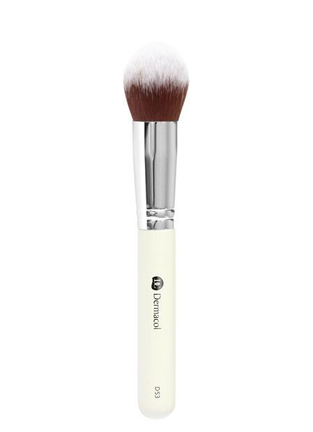 Dermacol - Cosmetic brush D53 - Tapered Top - Kontúrovací štetec -