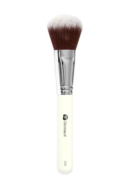 Dermacol - Cosmetic brush D55  - Powder Brush - Púdrový štetec -