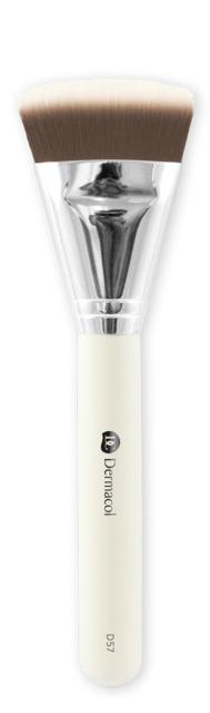 Dermacol - Cosmetic brush  D57 contouring with case - Kontúrovací štetec s puzdrom -