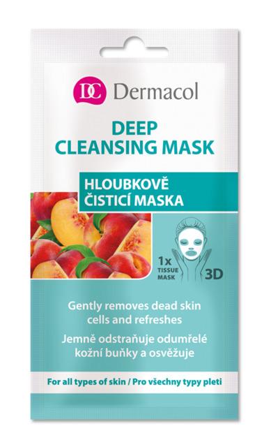 Dermacol - Deep Cleansing Mask - Textilná 3D hĺbkovo čistiaca maska - 15 ml