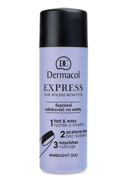 Dermacol - Express nail polish remover - Expresný odlakovač na nechty - 120 ml