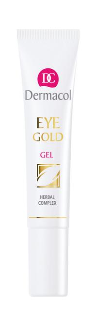Dermacol - Eye Gold Gel - Očný gél na unavené oči - 15 ml