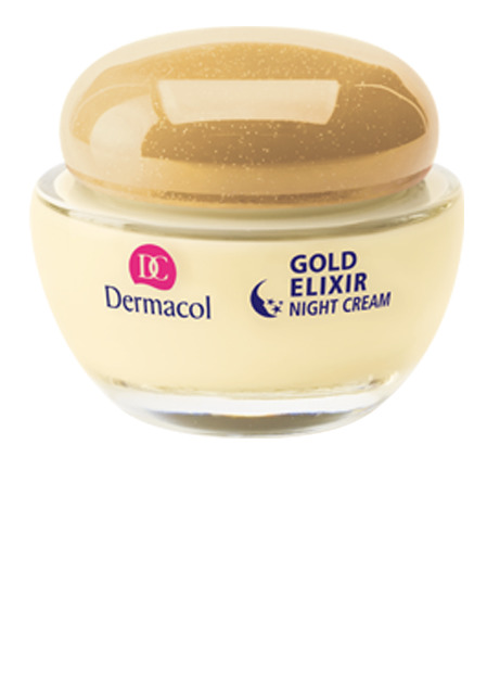 Dermacol - GOLD ELIXIR CAVIAR NIGHT CREAM - Omladzujúci kaviárový nočný krém - 50 ml