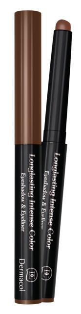Dermacol - Longlasting Intense Colour Eyeshadow & Eyeliner - Očný tieň a linka 2v1 - 1
