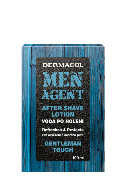 Dermacol - Men Agent After Shave Lotion Gentleman Touch - Voda po holení Gentleman Touch - 100 ml
