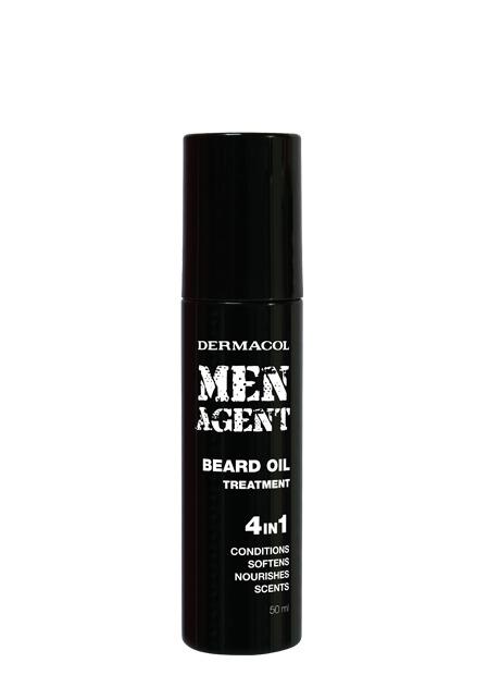 Dermacol - Men Agent Beard Oil Treatment - Ošetrujúci olej na fúzy - 50 ml