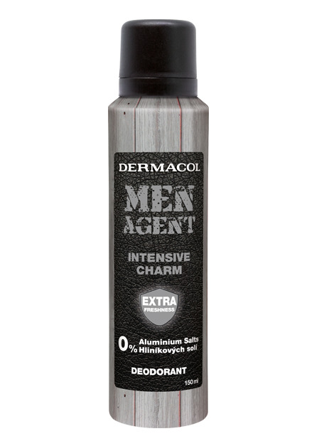Dermacol - Men Agent Deodorant Intensive charm - Dezodorant - 150 ml