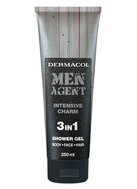 Dermacol - Men Agent Shower Gel Intensive Charm - Sprchovací gél 3v1 Intensive Charm - 250 ml