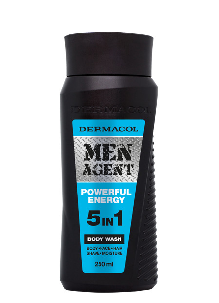 Dermacol - Men Agent Shower Gel Powerful Energy - Sprchovací gél 5v1 Powerful Energy - 250 ml