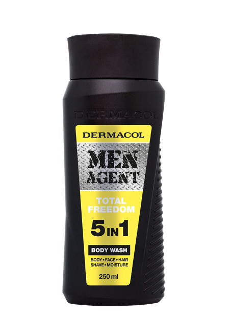 Dermacol - Men Agent Shower Gel Total Freedom - Sprchovací gél 5v1 Total Freedom - 250 ml