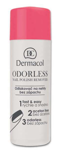 Dermacol - Odorless Nail Polish Remover - Odlakovač na nechty bez zápachu - 120 ml