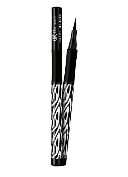 Dermacol - Precise Black Eyeliner - Black Sensation - Fixa na oči  - 1 ml