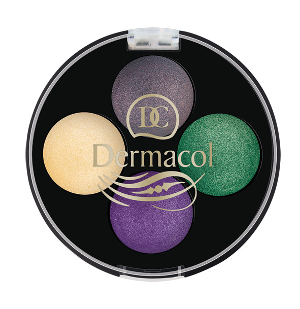 Dermacol - QUATTRO BAKED EYE shadows - Quattro baked očné tiene  -