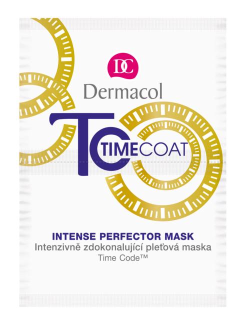 Dermacol - TIME COAT FACE MASK - Intenzívne zdokonaľujúca pleťová maska - 16 ml