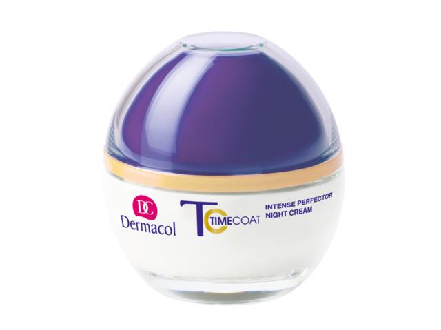 Dermacol - TIME COAT NIGHT CREAM - Intenzívne zdokonaľujúci nočný krém - 50 ml