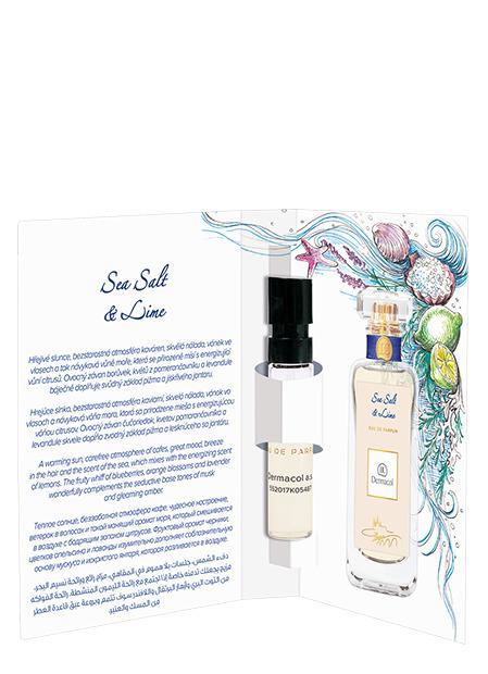 Dermacol - Tester EDP Sea Salt & Lime - Tester EDP Sea Salt and Lime - rozprašovačov - 2 ml