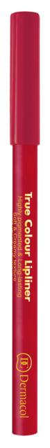Dermacol - True Colour Lipliner - Drevená kontúrovacia ceruzka na pery -