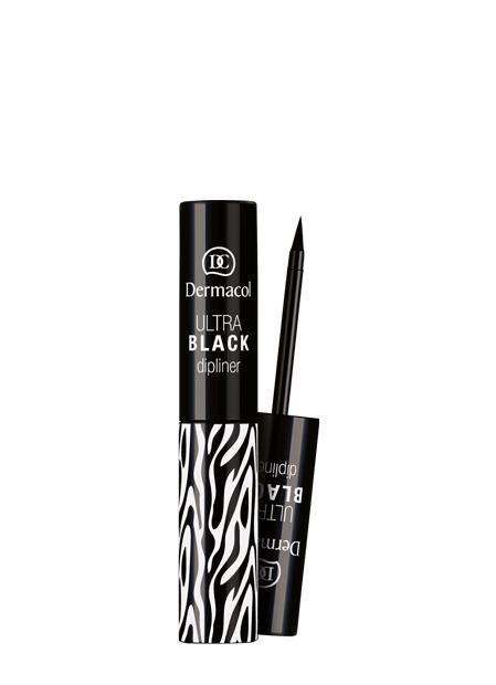 Dermacol - Ultra Black Dipliner Eyeliner - Black Sensation - Tekutá očná linka  - 2