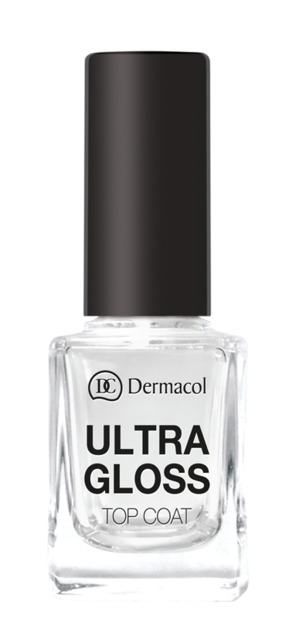 Dermacol - Ultra Gloss Top Coat - Nadlak pre ultra lesk - 11 ml