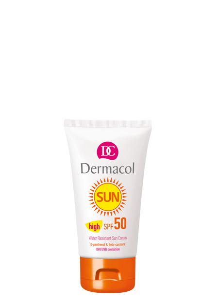 Dermacol - Water Resistant Sun Cream SPF 50 - Vodeodolný krém na opaľovanie SPF 50 - 50 ml