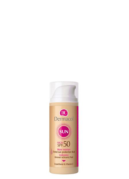 Dermacol - Water Resistant Tinted Sun Protection Fluid SPF 50 - Vodeodlný tónovací ochranný fluid SPF 50 - 50 ml