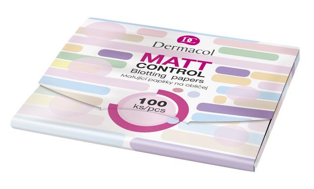 Dermacol mattyfying papers matt control - zmatňující papírky
